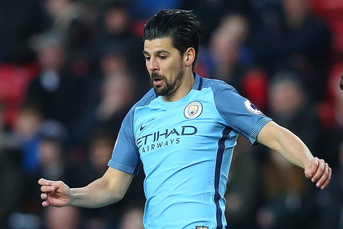 Nolito, con el Manchester City