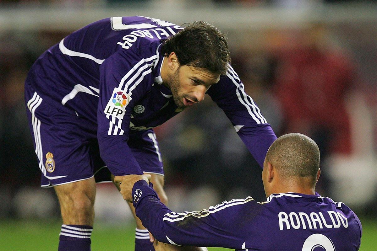 Ruud van Nistelrooy, Ronaldo Nazario