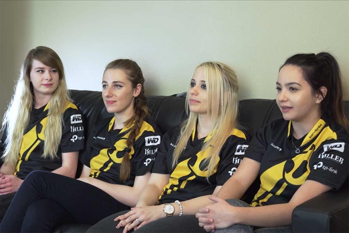 Team Dignitas CSGO femenino