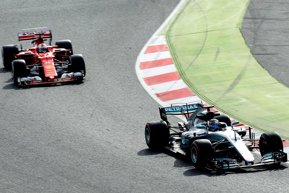 Ferrari y Mercedes