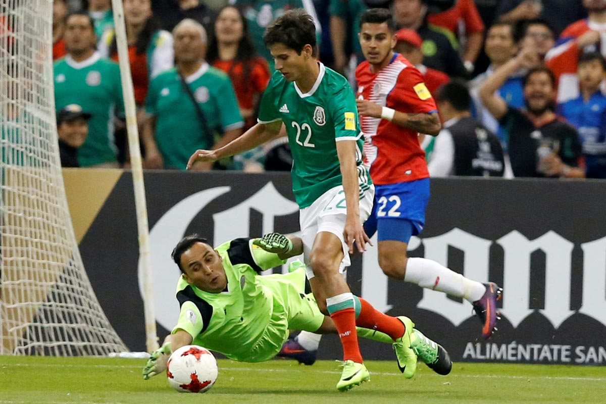 Keylor Navas contra México