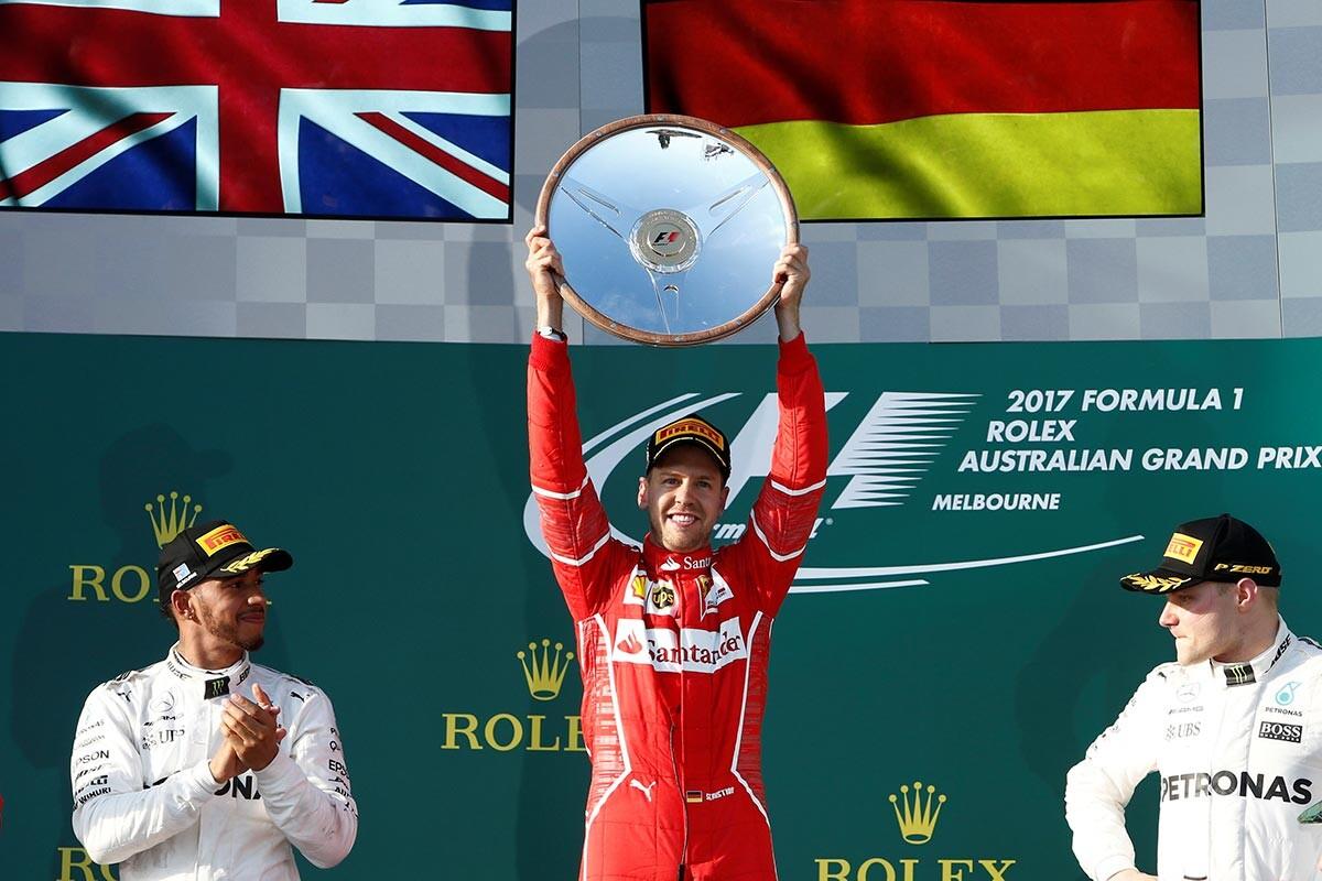 Vettel gana el GP de Australia