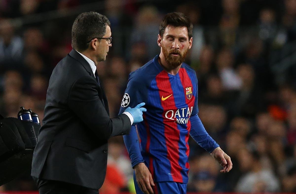 La eliminación del Barcelona, en imágenes