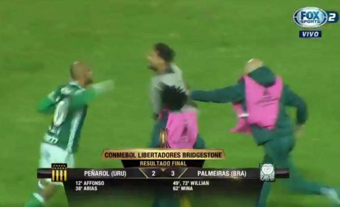 Felipe Melo con Palmeiras