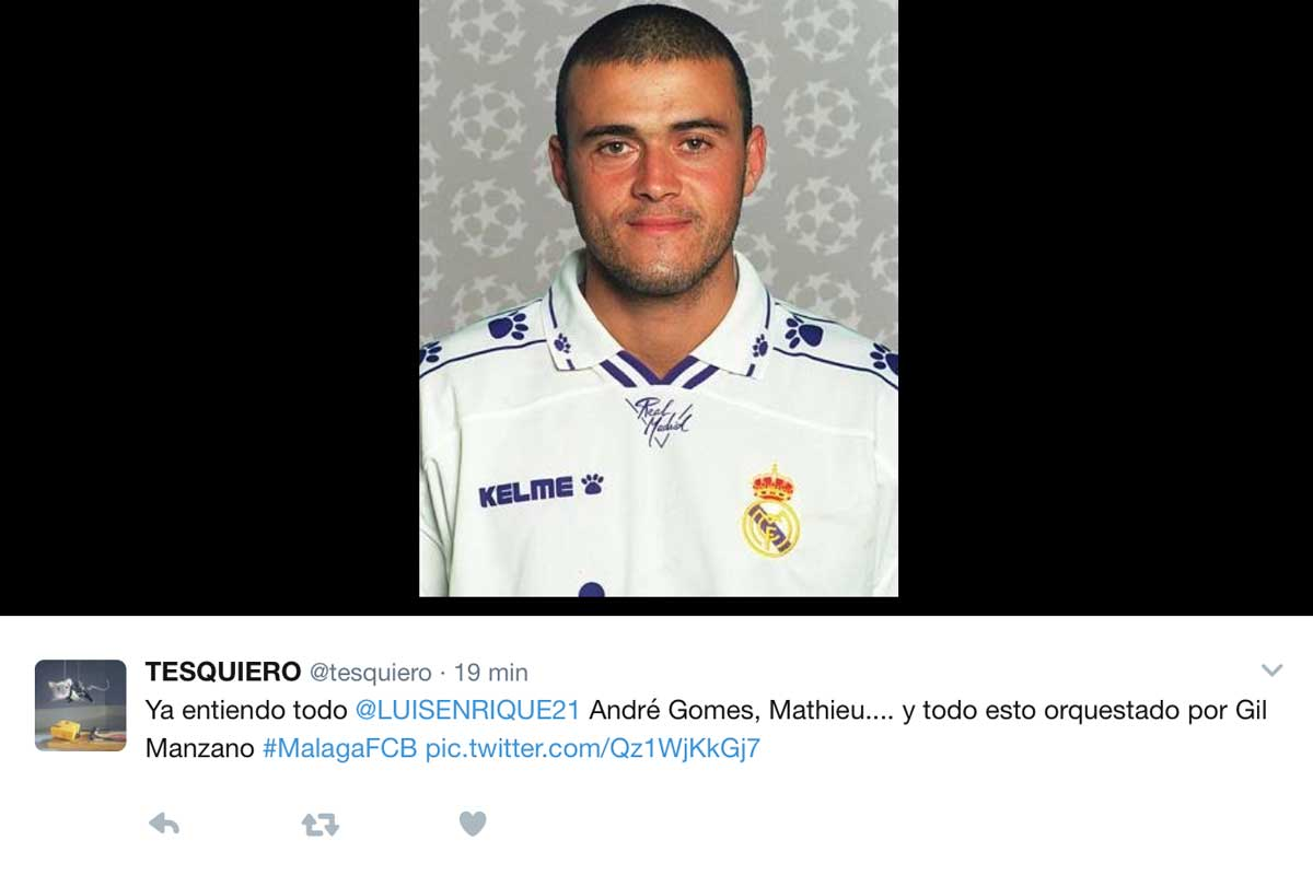 Los mejores memes del Málaga-Barça