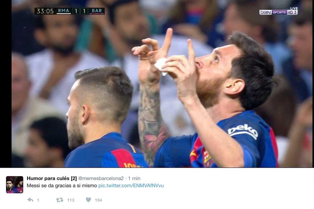 Los mejores memes del Real Madrid-Barça