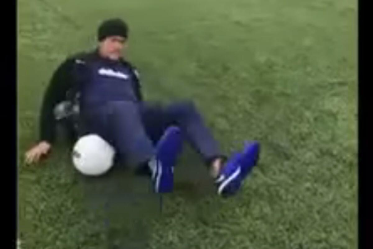 Neymar caída