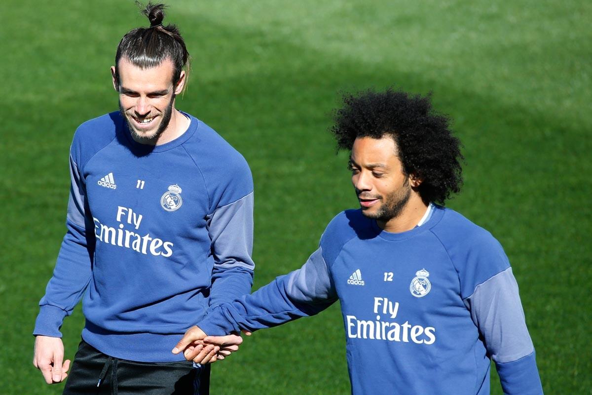 Gareth Bale y Marcelo