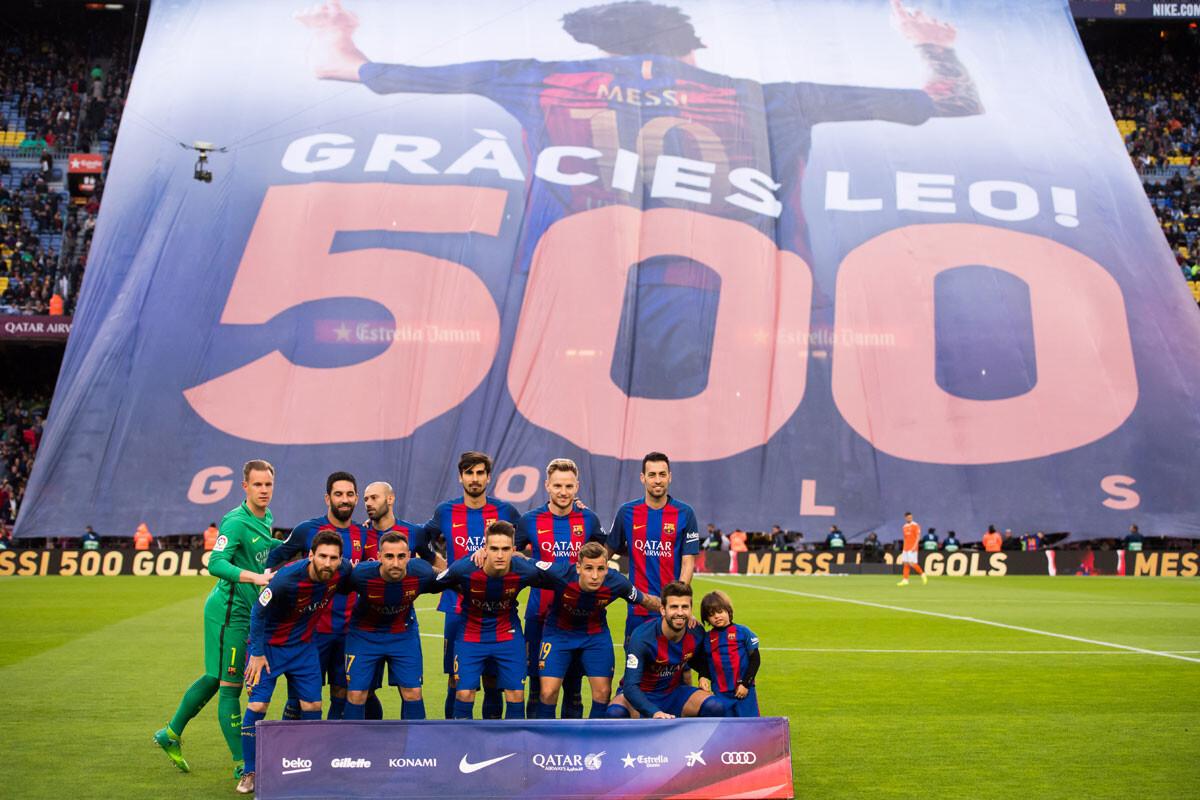 El Barcelona – Osasuna en imágenes