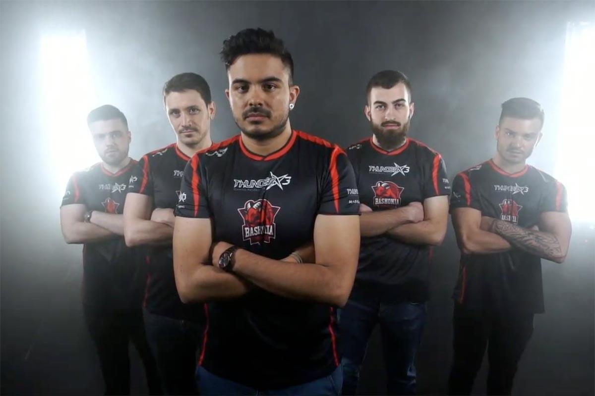ThunderX3 Baskonia es el nuevo líder del ESL Masters