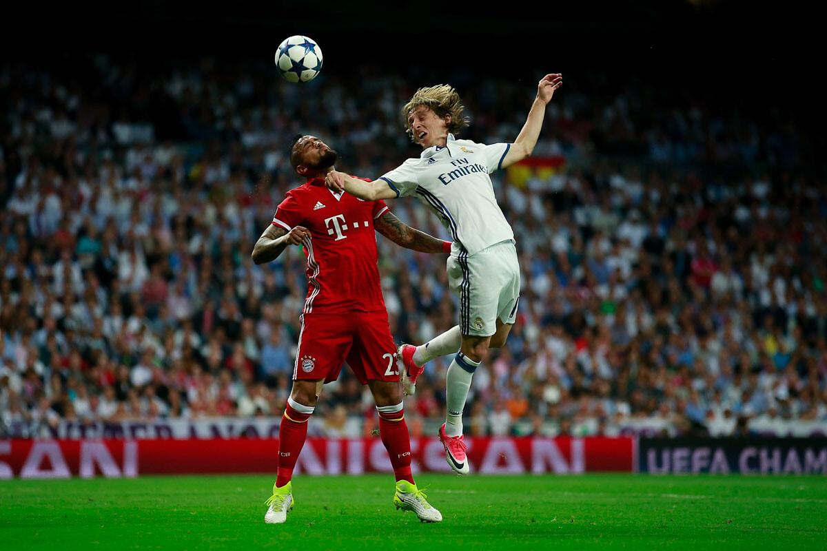 Las mejores imágenes del Real Madrid – Bayern