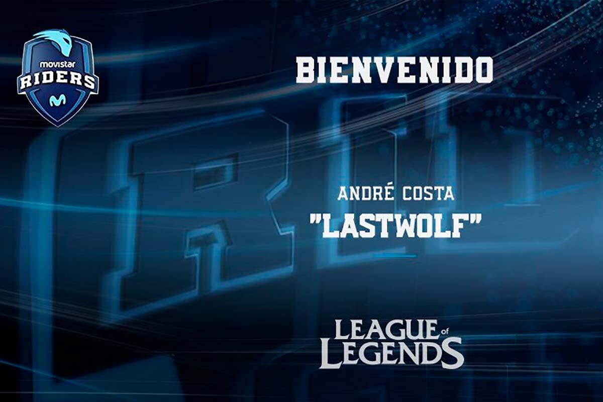 Movistar Riders ficha a Lastwolf para su equipo de LOL