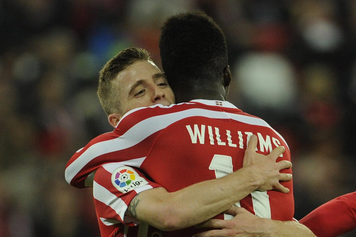 Muniain e Iñaki Williams