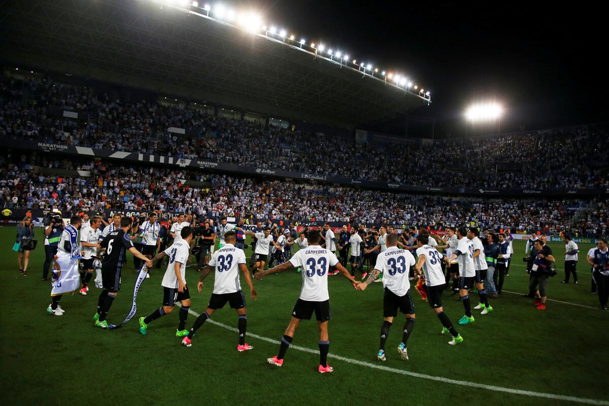 La fiesta del Real Madrid campeón de Liga
