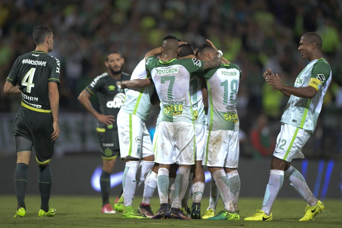 Atlético Nacional goleó a Chapecoense