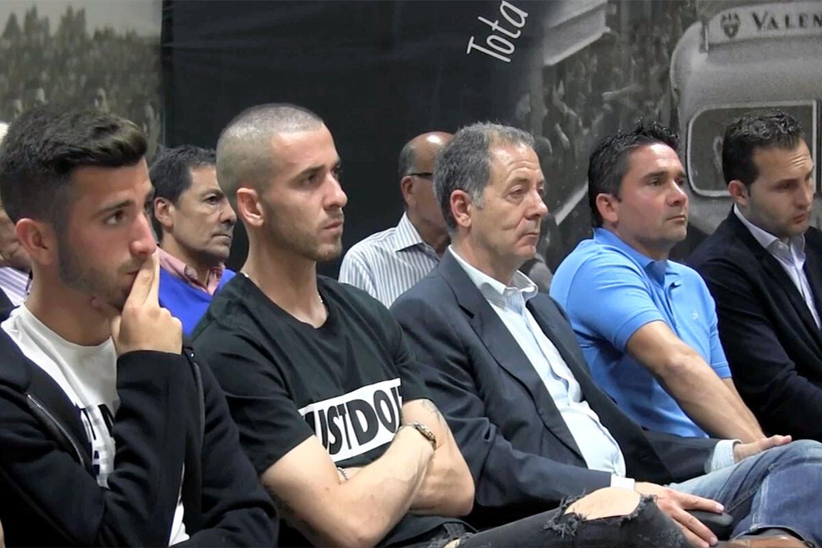 José Luis Gayà Jaume Doménech Valencia CF