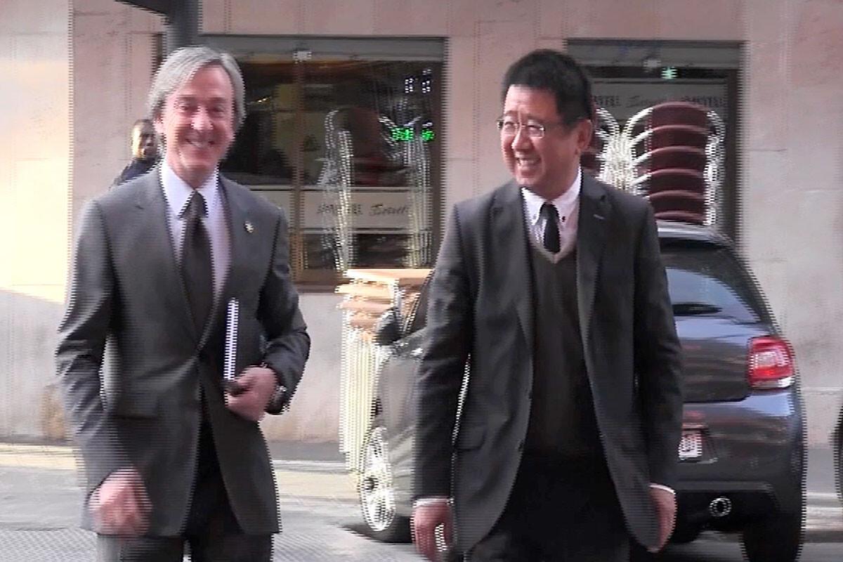 Kim Koh y Jesús García Pitarch Valencia CF