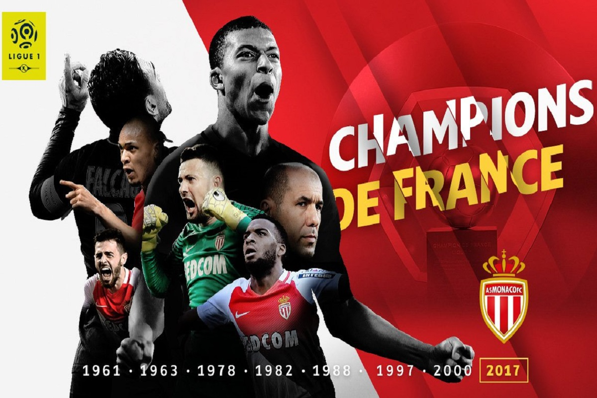 Mónaco campeón en Francia