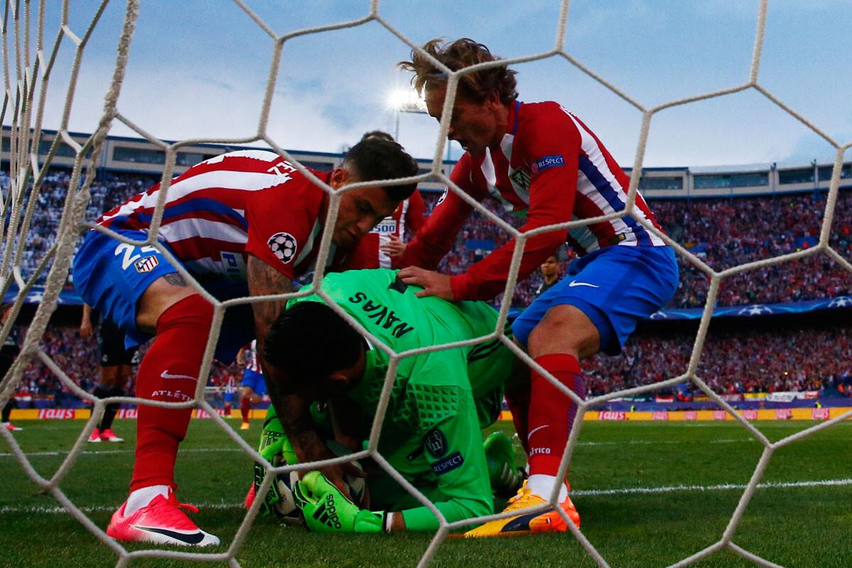 Las mejores imágenes del Atlético – Real Madrid