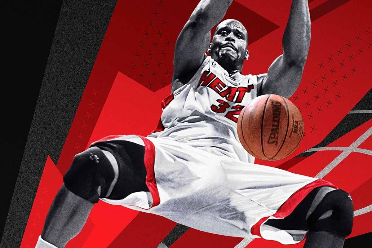 Shaquille O'Neal, portada de NBA 2K18