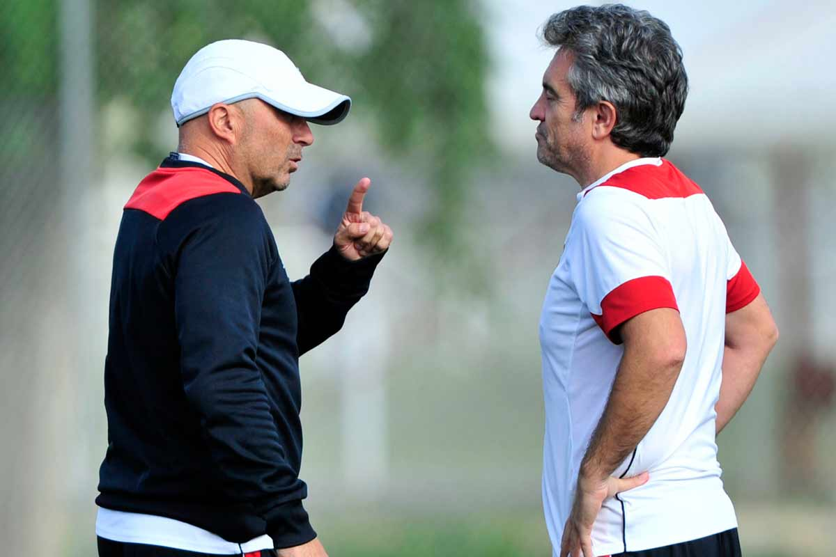 Sampaoli y Lillo