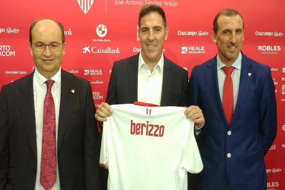 Berizzo fue presentado en Sevilla