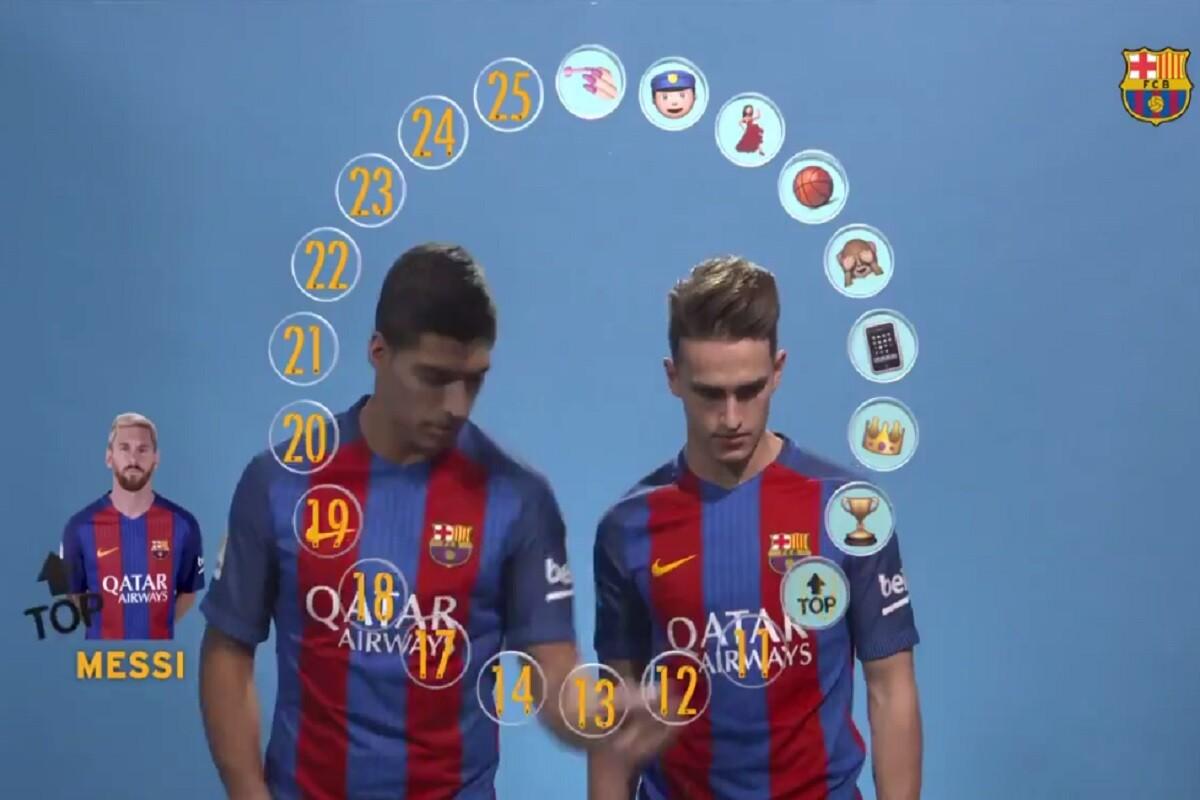 Messi calificado por sus compañeros