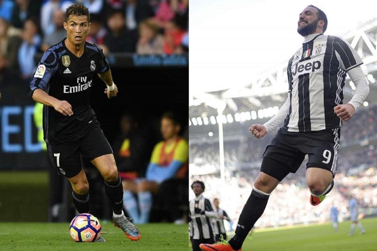 Cristiano Ronaldo y Gonzalo Higuaín