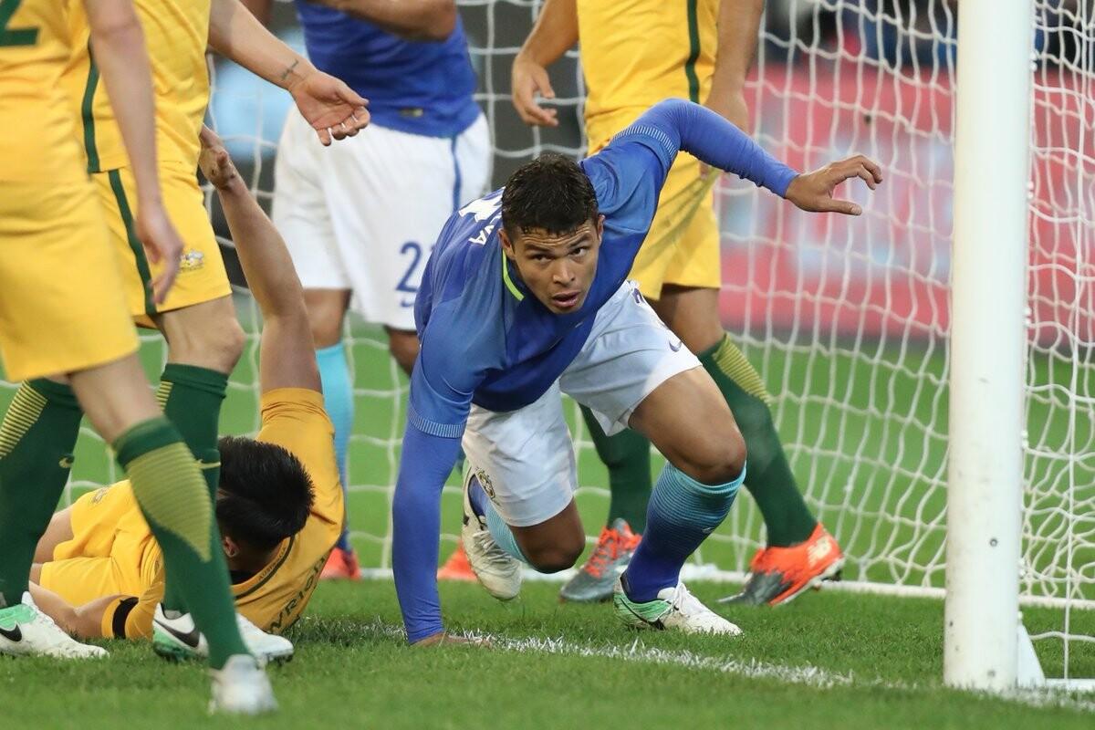 Brasil goleó a Australia