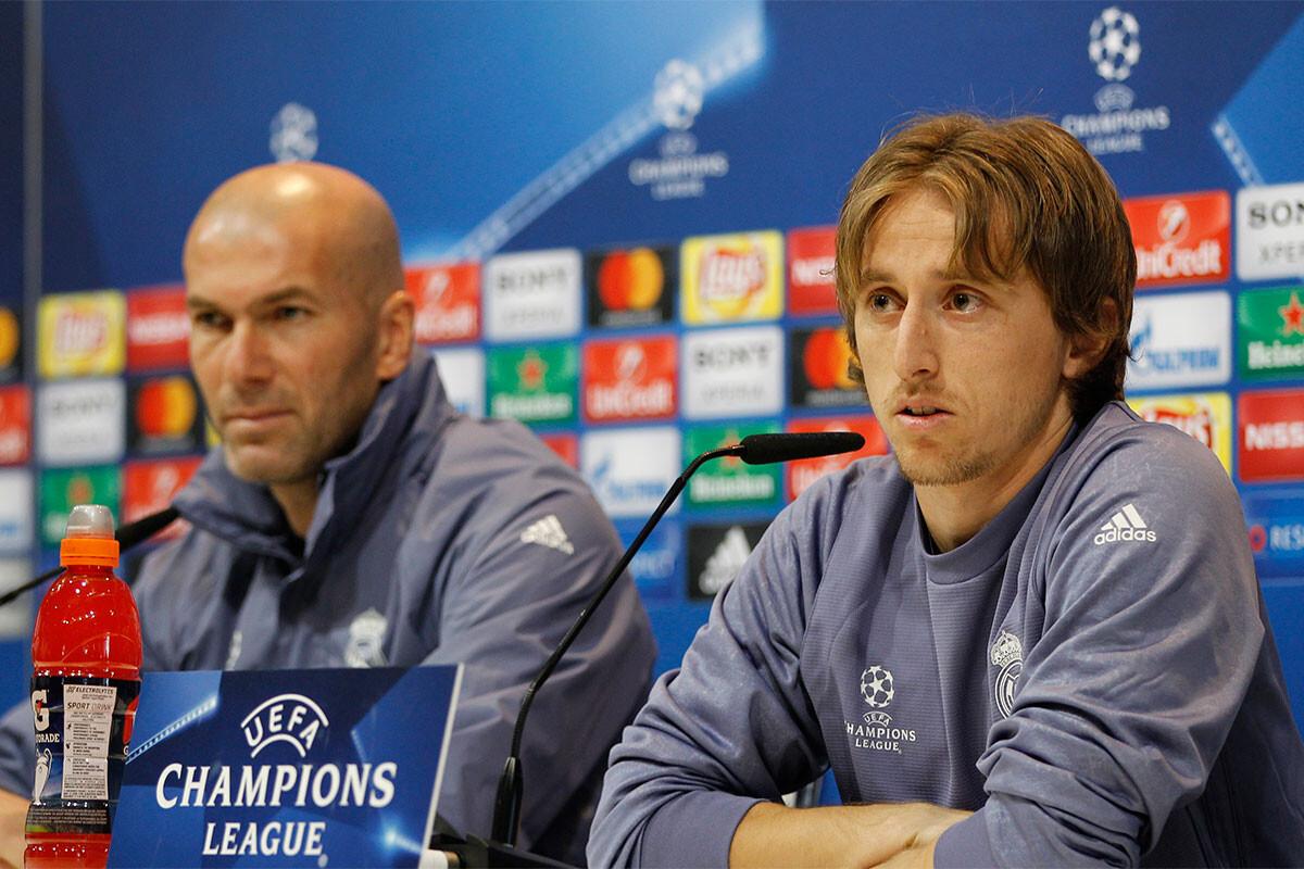 Luka Modric, Zinedine Zidane