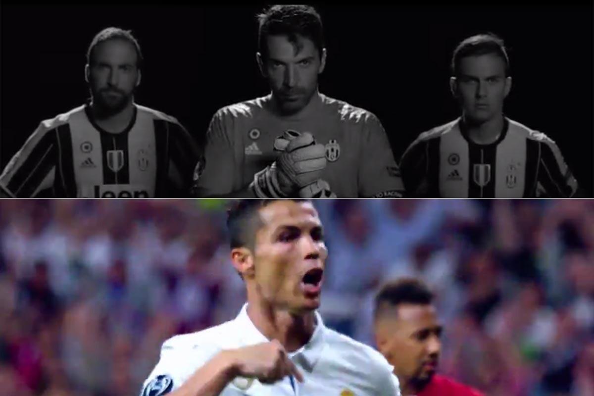 Guerra De Vídeos Motivacionales Entre Real Madrid Y Juventus