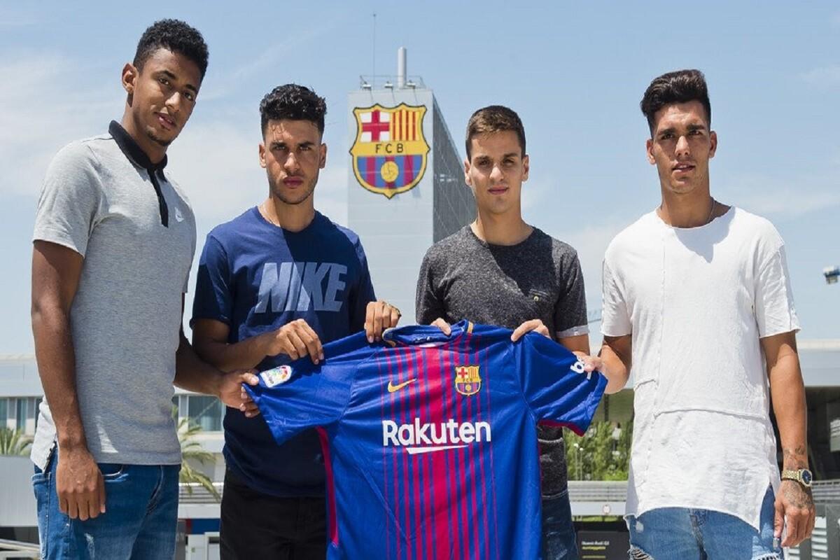 Cuatro fichajes del Barcelona para el filial