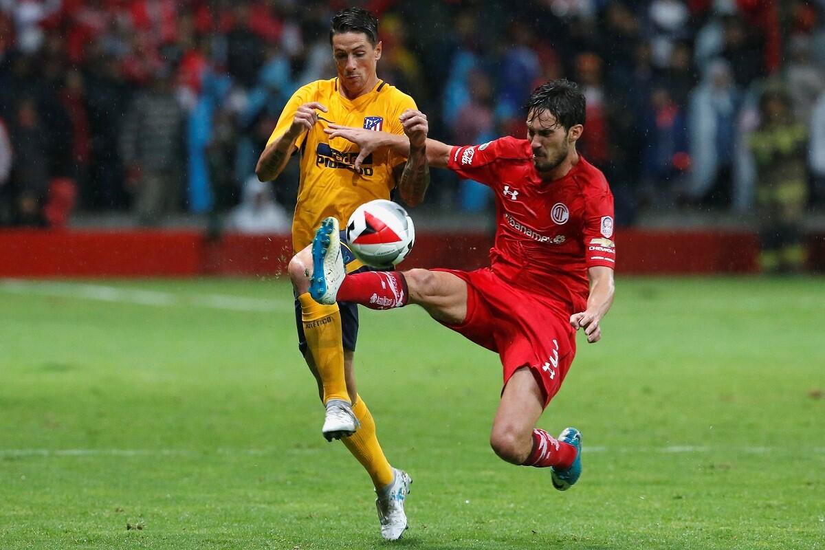 Atlético de Madrid empató en el primer partido de pretemporada contra Toluca