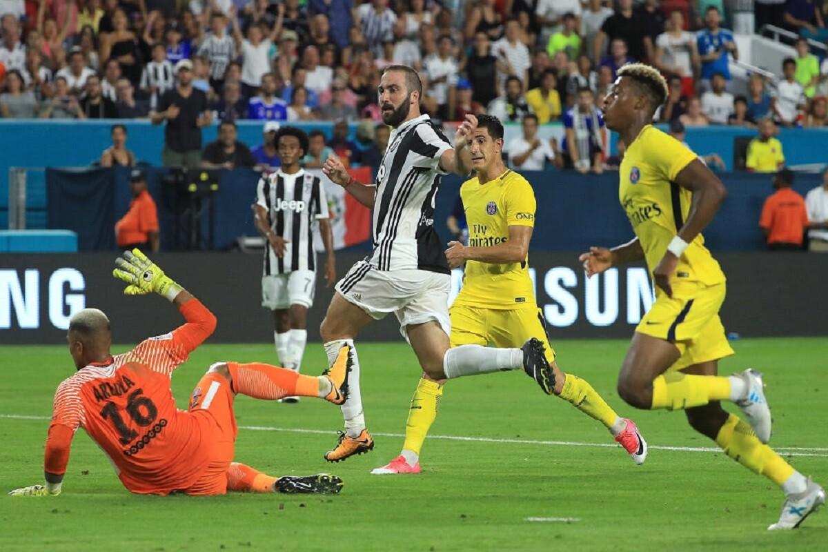 Juventus venció al PSG