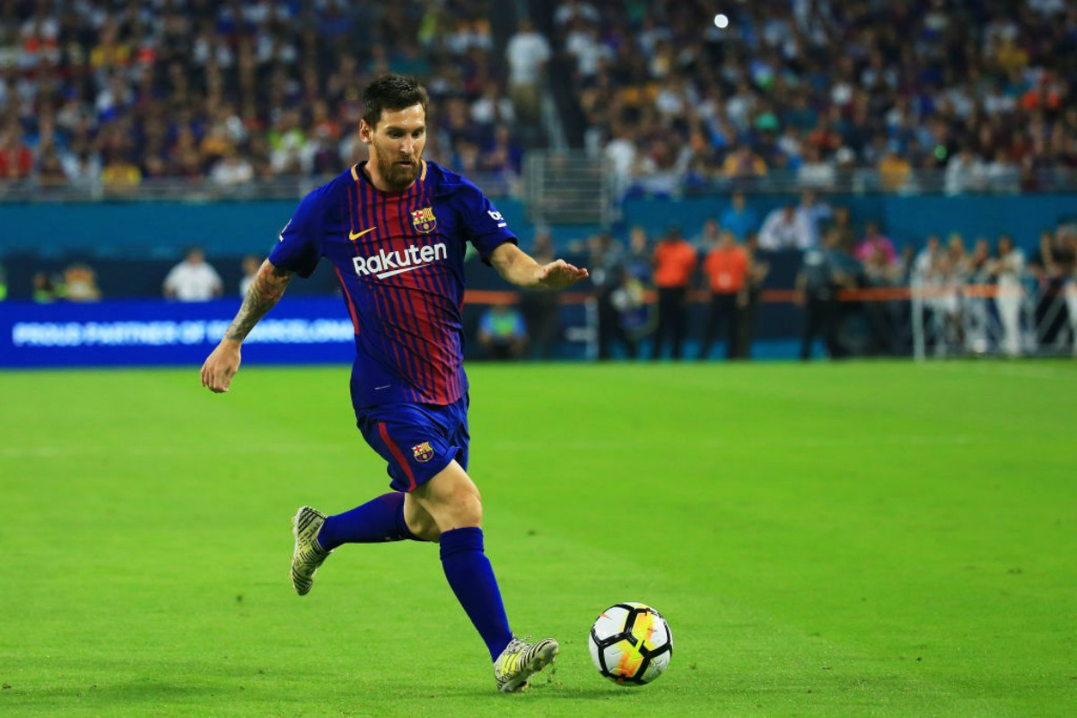 Messi contra el Real MAdrid