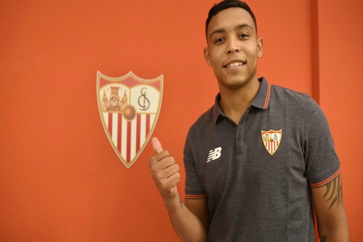 Muriel fue presentado en el Sevilla