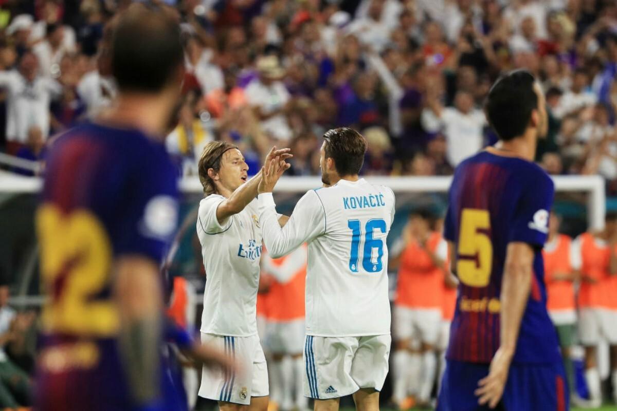 Kovacic fue la gran figura del Real Madrid