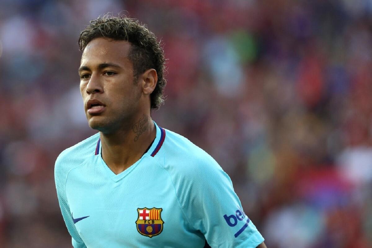 Neymar contra el MAnchester United