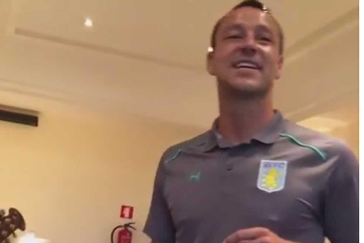 John Terry, jugador del Aston Villa