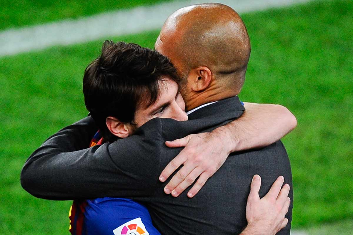 Messi y Guardiola