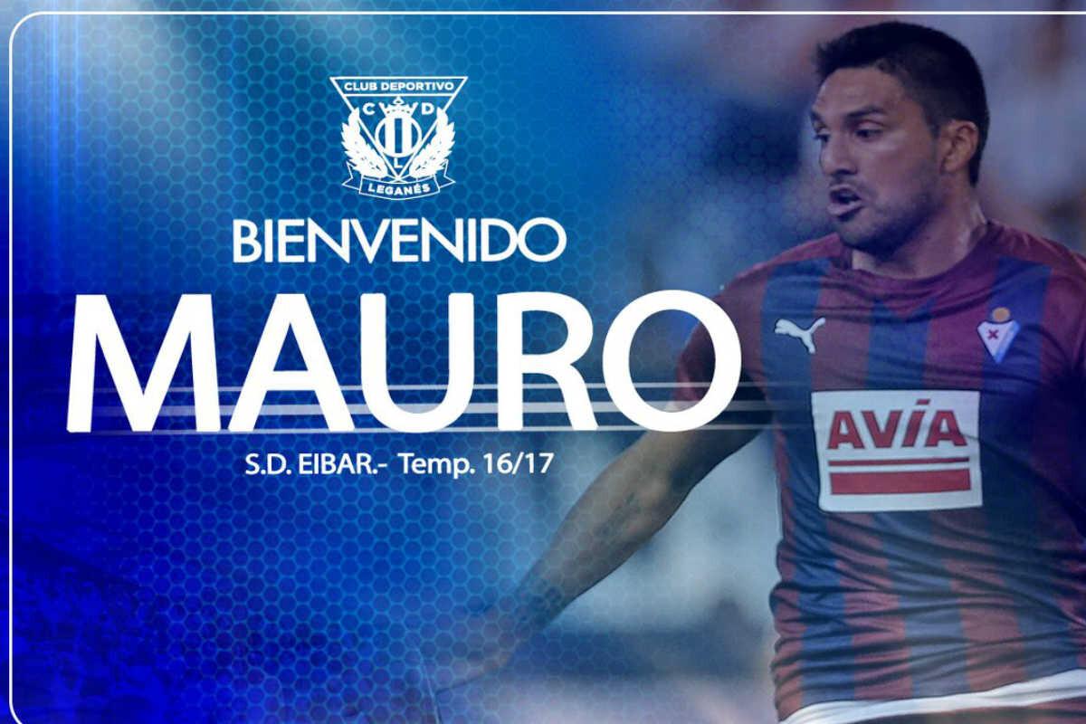 El Leganés ficha a Mauro dos Santos