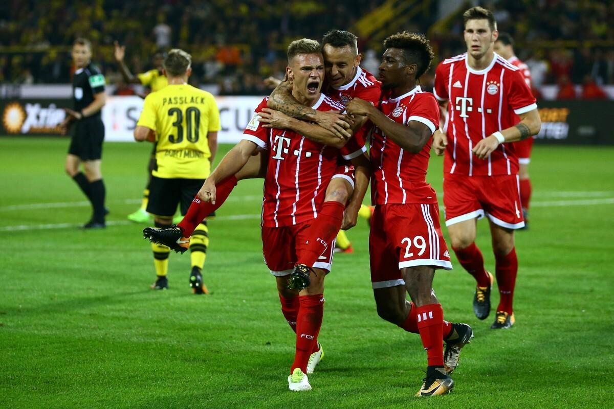 Bayern campeón de la Supercopa de Alemania