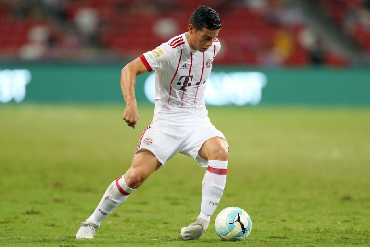 James con el Bayern Múnich