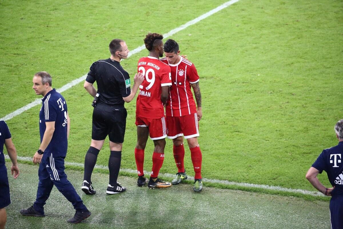 James es sustituido en el Bayern Múnich