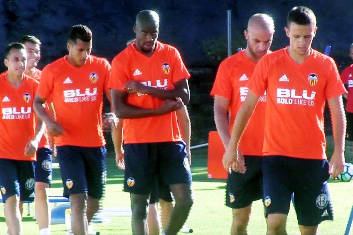 Geoffrey Kondogbia y Jeison Murillo Valencia CF