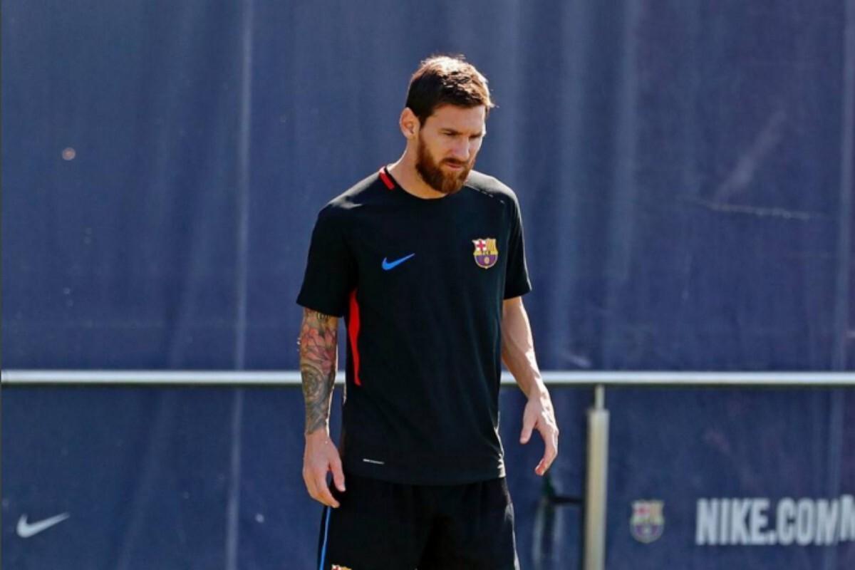 Leo Messi el día post clásico