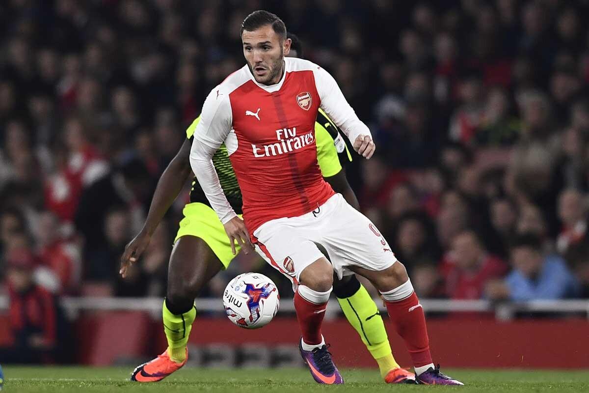 Lucas Pérez, del Arsenal
