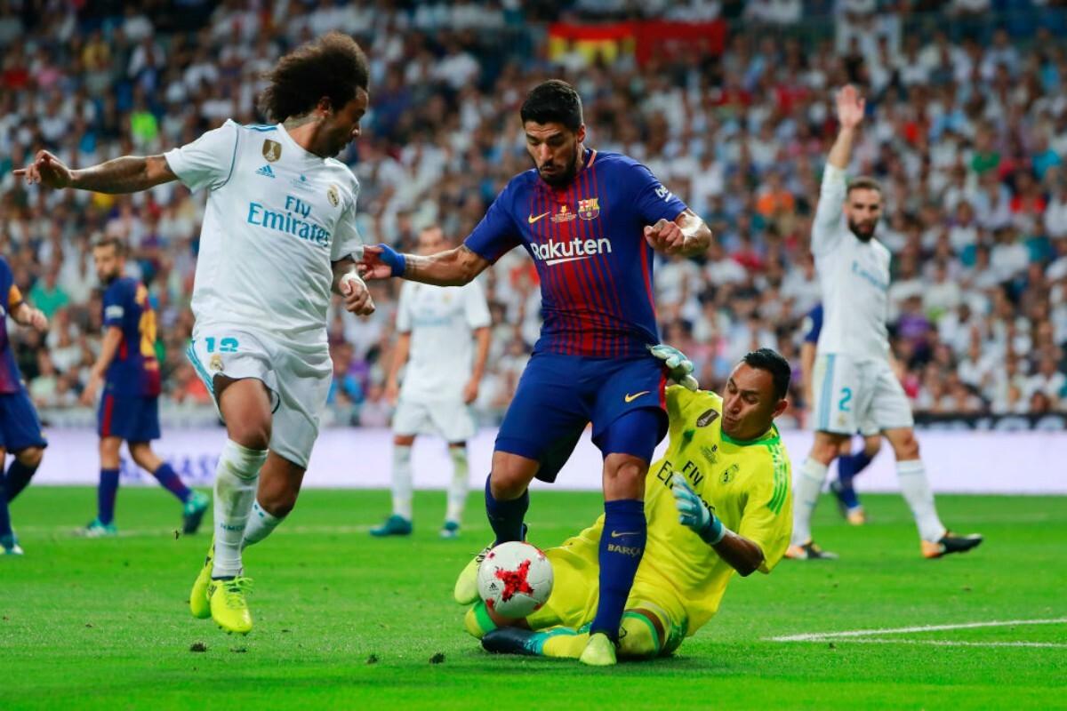 Luis Suárez contra el Real Madrid