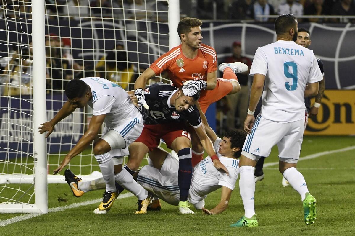 Real Madrid empata con el All-Stars de la MLS