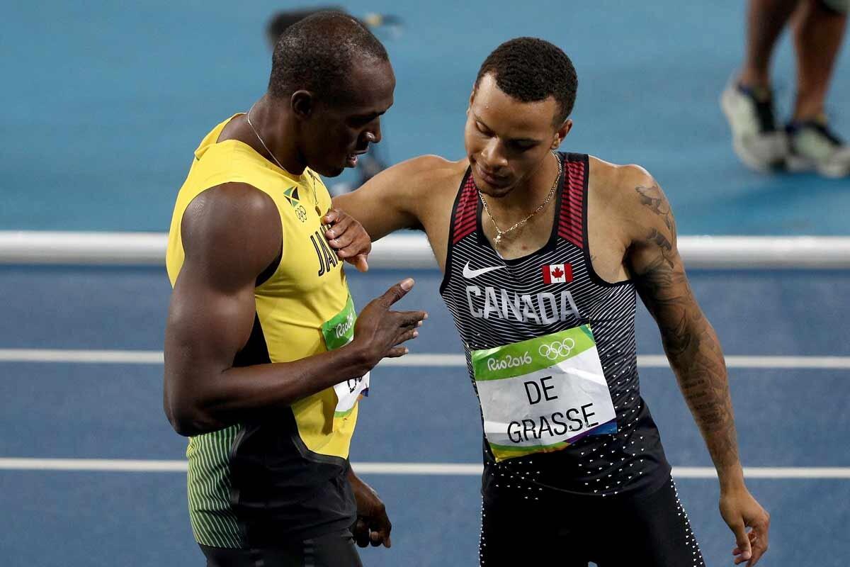 Bolt y De Grasse